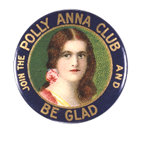 Pollyanna Club Badge